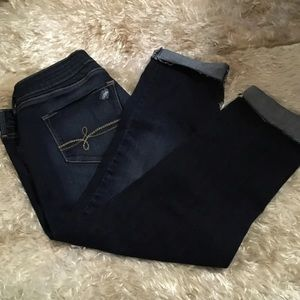 Levi's Denizen Low Rise Crop Jeans Size 13
